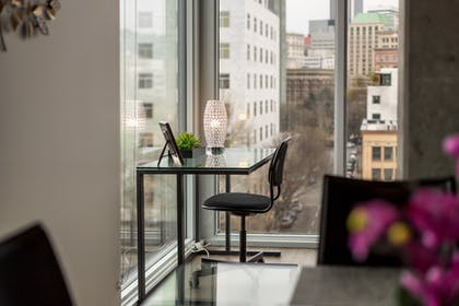 View from Room | 100 Walkscore Pearl District Condos by Barsala