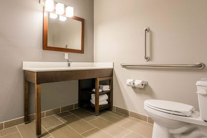 Bathroom | Comfort Suites North Charleston - Ashley Phosphate