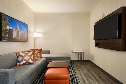 | 1 King Bed 2 Room Suite | Embassy Suites by Hilton Noblesville Indianapolis Convention Center