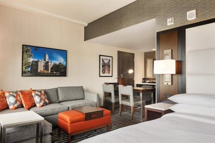 | 1 King Bed Studio Suite | Embassy Suites by Hilton Noblesville Indianapolis Convention Center