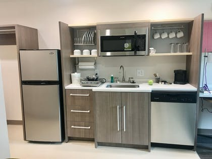In-Room Kitchen | Home2 Suites by Hilton Lake Charles