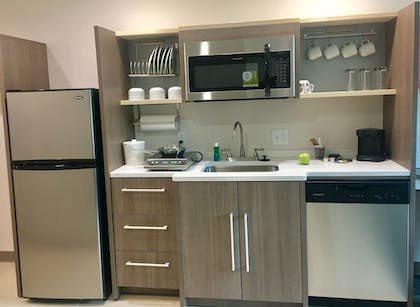 In-Room Kitchenette | Home2 Suites by Hilton Lake Charles