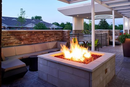 Terrace/Patio | Springhill Suites Grand Rapids West