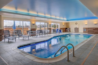 Indoor Pool | Fairfield Inn & Suites St Louis Westport