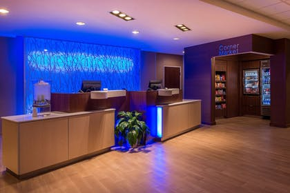 Lobby | Fairfield Inn & Suites St Louis Westport