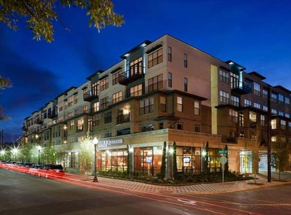 Front of Property - Evening/Night | Guild Uptown