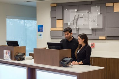 Reception | Holiday Inn Express and Suites San Marcos South