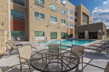 Pool | Holiday Inn Express and Suites San Marcos South