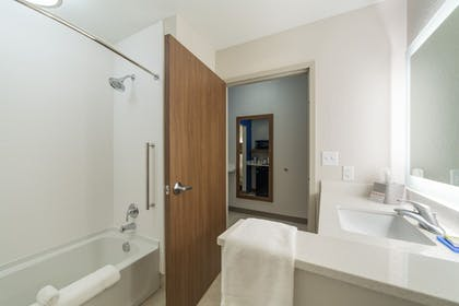 Bathroom | Holiday Inn Express and Suites San Marcos South
