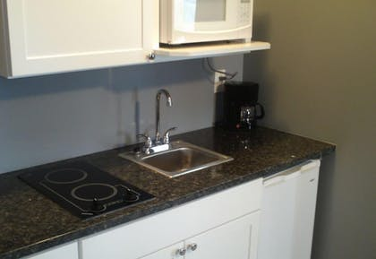 In-Room Kitchenette | Pine Tree Inn