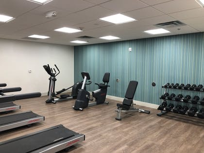 Fitness Facility | Holiday Inn Express & Suites Racine