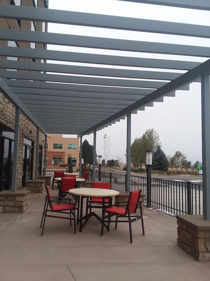 Terrace/Patio | Holiday Inn Express & Suites Colorado Springs AFA Northgate