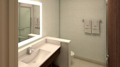 In-Room Amenity | Holiday Inn Express & Suites Dallas NW HWY - Love Field