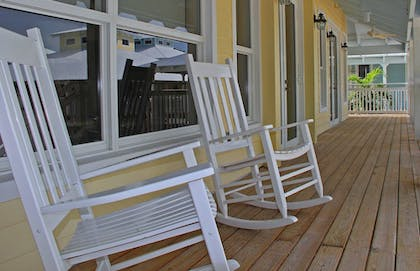 Porch | Dolphin Point Villas
