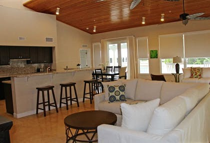 Living Room | Dolphin Point Villas
