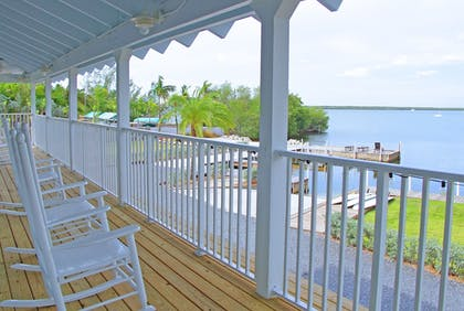 Terrace/Patio | Dolphin Point Villas