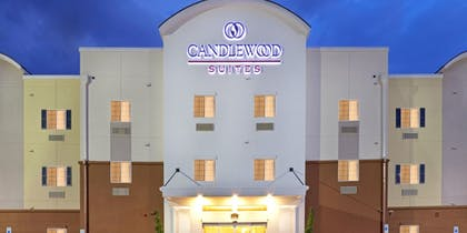 Front of Property - Evening/Night | Candlewood Suites Houston North I45