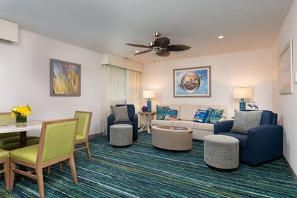 Living Area | Margaritaville Resort Gatlinburg