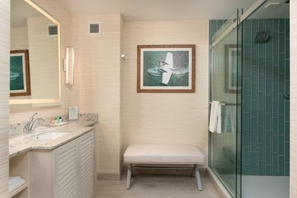 Bathroom Shower | Margaritaville Resort Gatlinburg