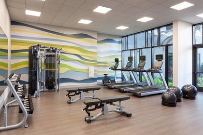 Fitness Facility | SpringHill Suites by Marriott Orlando at Millenia