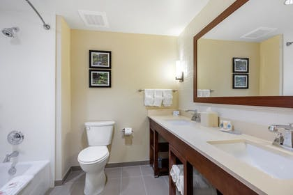 Bathroom | Comfort Inn & Suites at CrossPlex Village