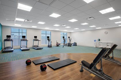 Fitness Facility | Holiday Inn Express & Suites Lubbock Central - Univ Area
