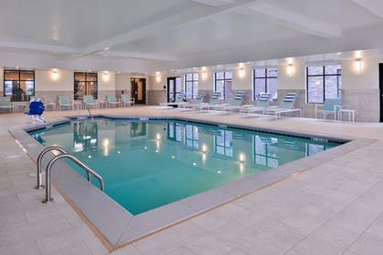 Indoor Pool | Homewood Suites by Hilton Des Moines Airport