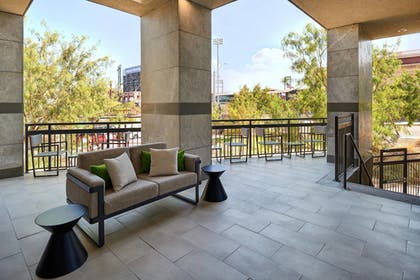 Terrace/Patio   Courtyard by Marriott El Paso Downtown/Convention Center