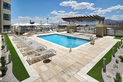 Pool   Courtyard by Marriott El Paso Downtown/Convention Center