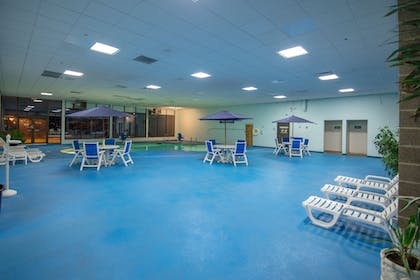 Indoor Pool | Ramada by Wyndham Cedar Rapids
