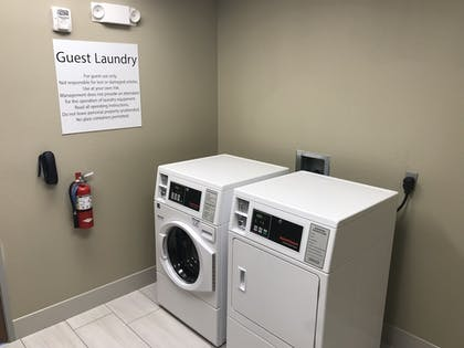 Laundry Room | Holiday Inn Express And Suites Hannibal - Medical Center