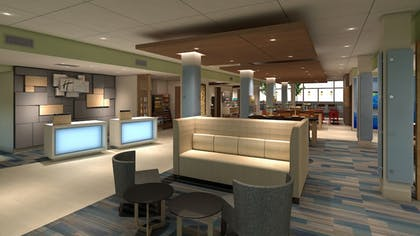Lobby | Holiday Inn Express And Suites Hannibal - Medical Center