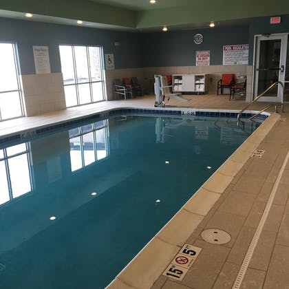 Indoor Pool | Holiday Inn Express and Suites Nebraska City
