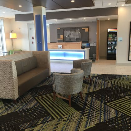 Reception | Holiday Inn Express and Suites Nebraska City