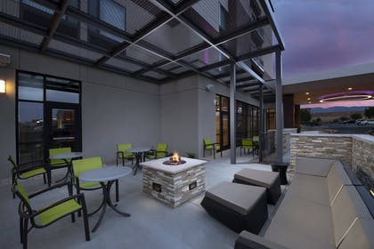 Terrace/Patio | SpringHill Suites by Marriott Albuquerque North/Journal Center