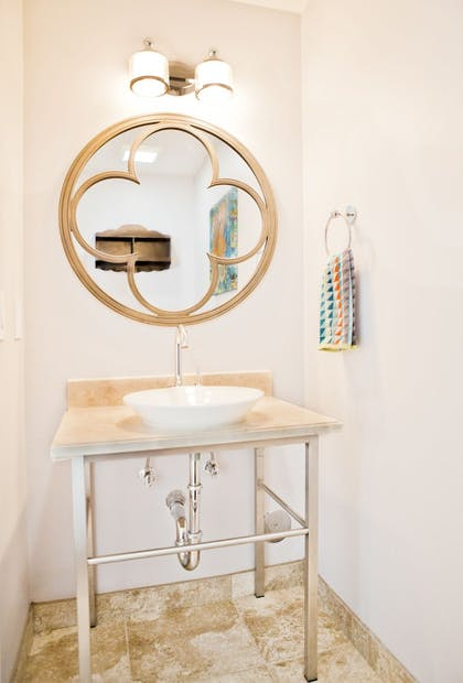 Bathroom Sink | MIA Luxe Properties at Mutiny Park Condominium-Hotel