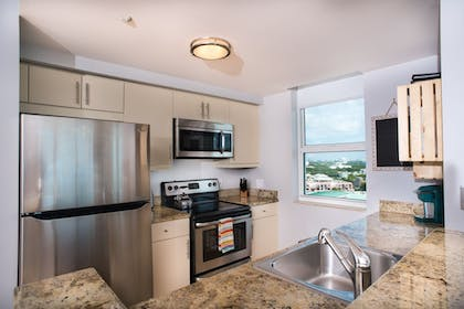 In-Room Kitchen | MIA Luxe Properties at Mutiny Park Condominium-Hotel