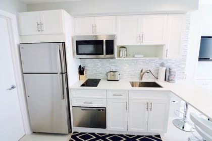 In-Room Kitchenette | MIA Luxe Properties at Mutiny Park Condominium-Hotel