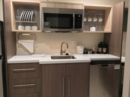 In-Room Kitchen   Home2 Suites by Hilton Brandon Tampa, FL