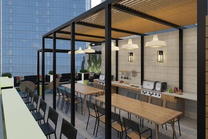 Outdoor Dining | TownePlace Suites by Marriott New York Manhattan/