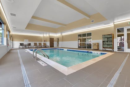 Indoor Pool | Best Western Plus Executive Residency Fillmore Inn