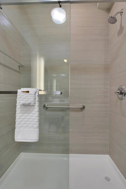 Bathroom Shower | Best Western Plus Executive Residency Fillmore Inn