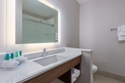 Bathroom | Holiday Inn Express & Suites St. Louis - Chesterfield