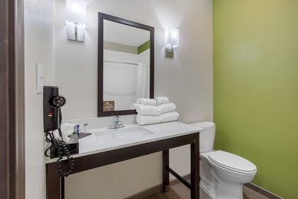 Bathroom | Sleep Inn & Suites Galveston Island