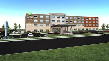 Exterior   Holiday Inn Express and Suites White Hall