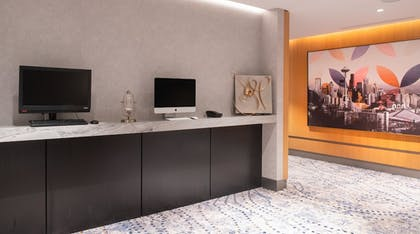 Business Center |  The Charter Hotel Seattle, Curio Collection by Hilton