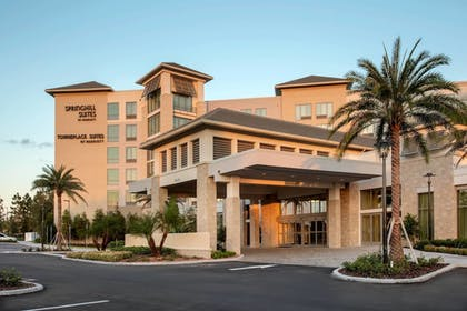 Hotel Front - Evening/Night | SpringHill Suites by Marriott Orlando Theme Parks/Lake Buena Vista