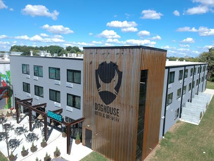 Exterior detail   DogHouse Hotel and Brewery