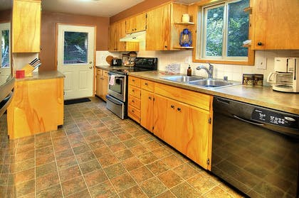 In-Room Kitchen | Ridge View Retreat - Three Bedroom Cabin with Hot Tub