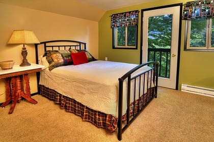 Guestroom | Ridge View Retreat - Three Bedroom Cabin with Hot Tub